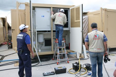 Emergency Solutions: Mobile field hospital